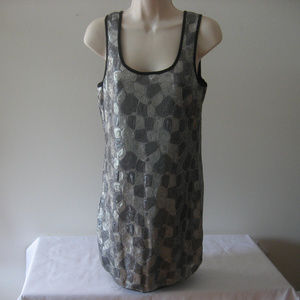 NWT - Romeo & Juliet Couture Silver Dress - Small